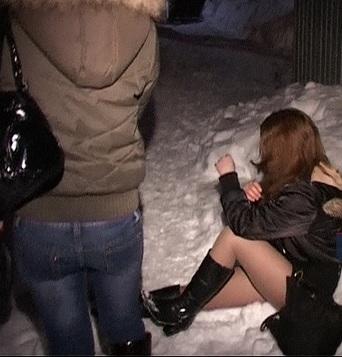 на дороге зимой проститутки