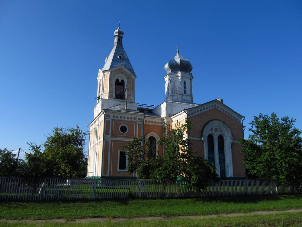 Церква в селі Медведівка