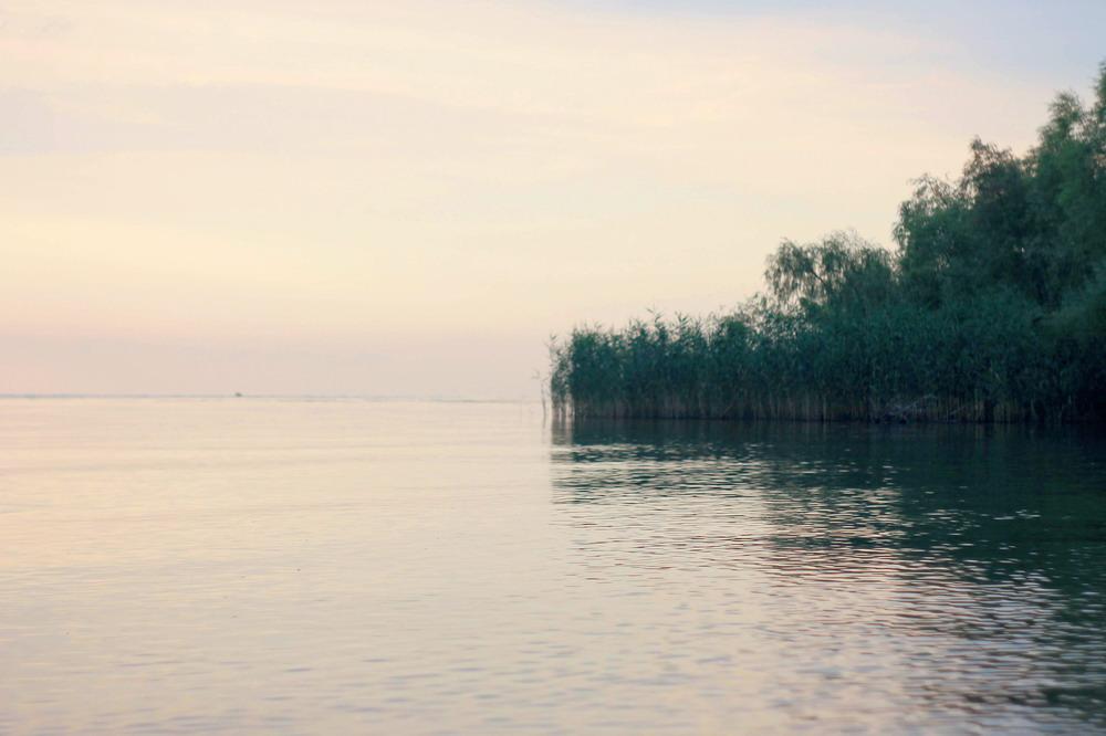 Дніпро біля Сагунівки
