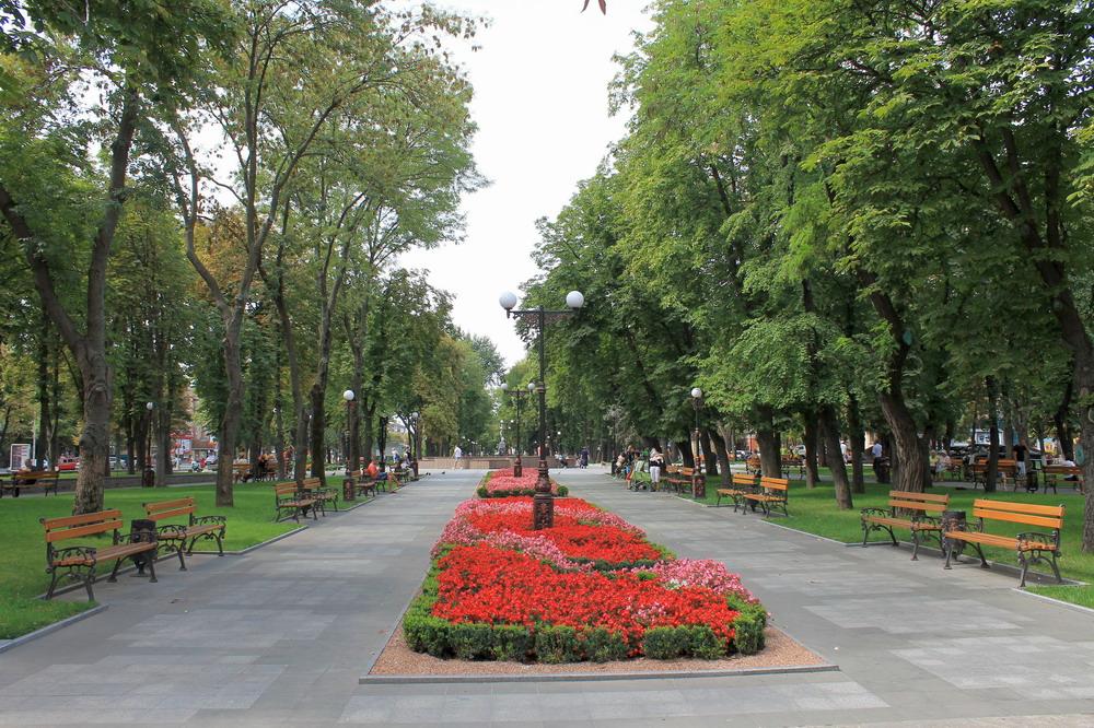 Сквер Жовтневий Кременчук
