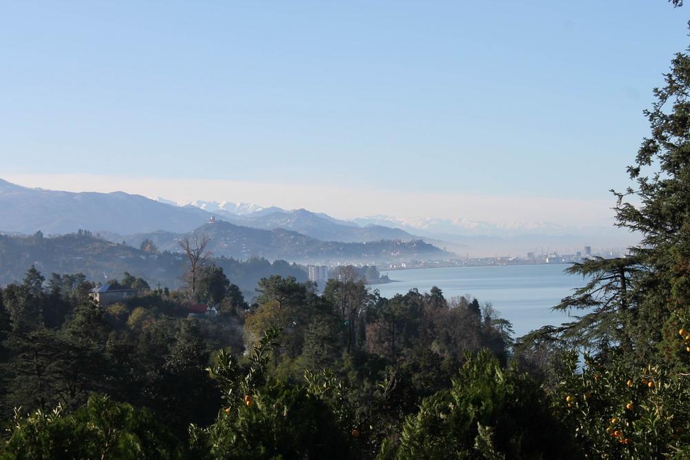 Батумі і гори