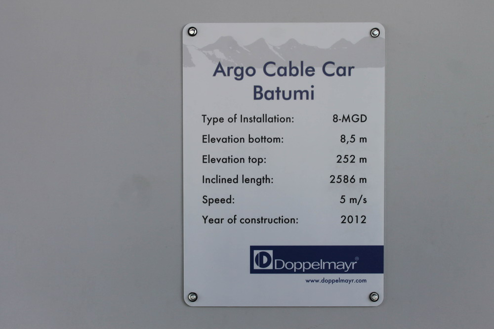 Argo Cable Car Batumi