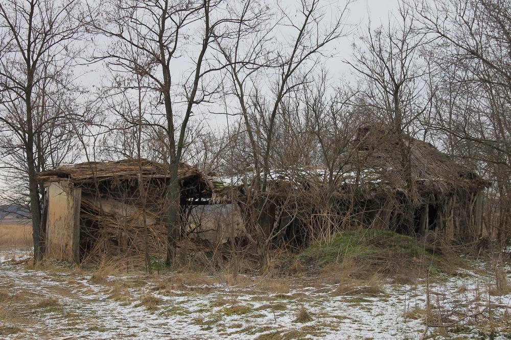 Залишки хат село Стецівка