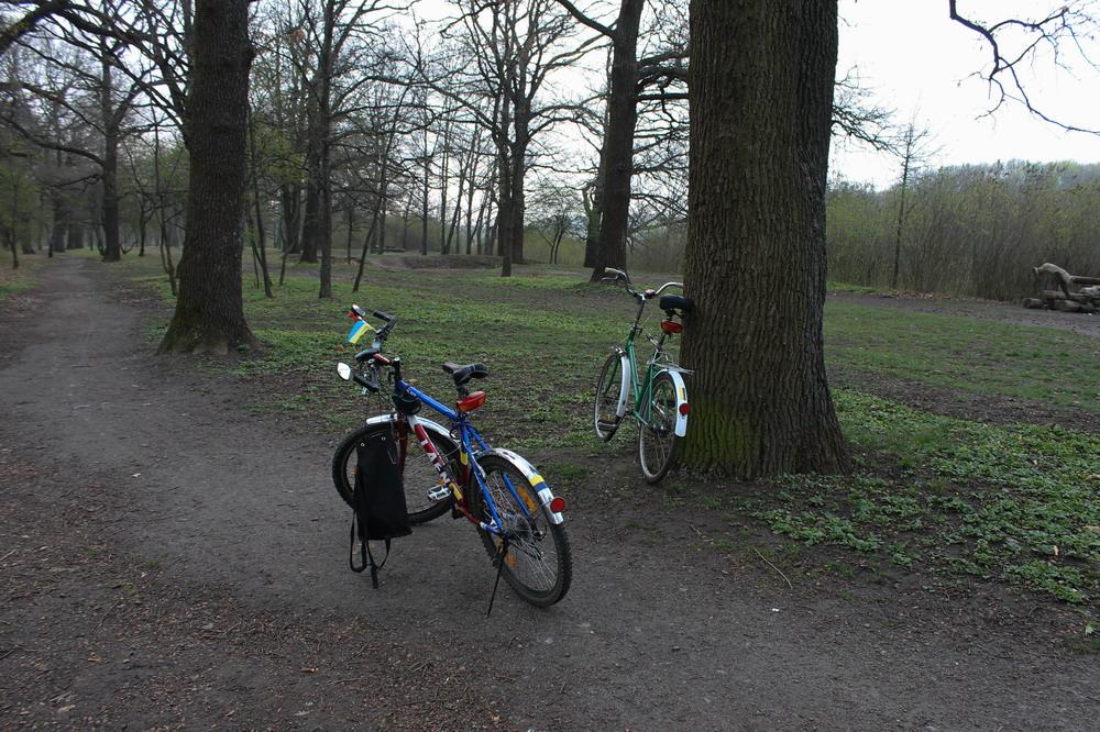 Велосипедом околицями Полтави
