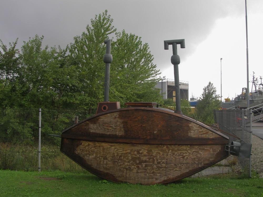 Деревяна підводна лодка