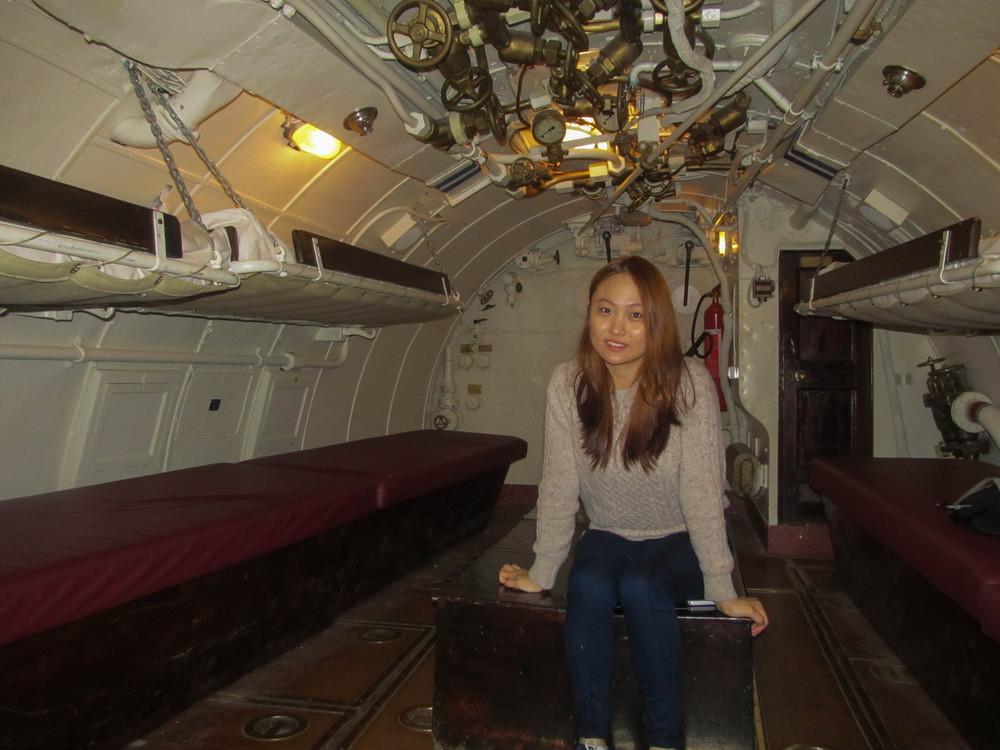 Підводна лодка Лембіт в музеї Леннусадам