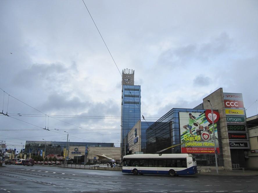 Тролейбус в Ризі
