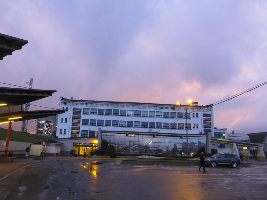 Вокзал Рига