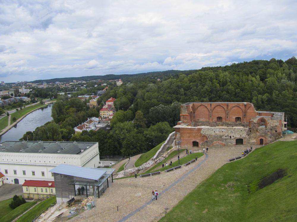 Vilnius: вид на місто з Башти Гедиміна