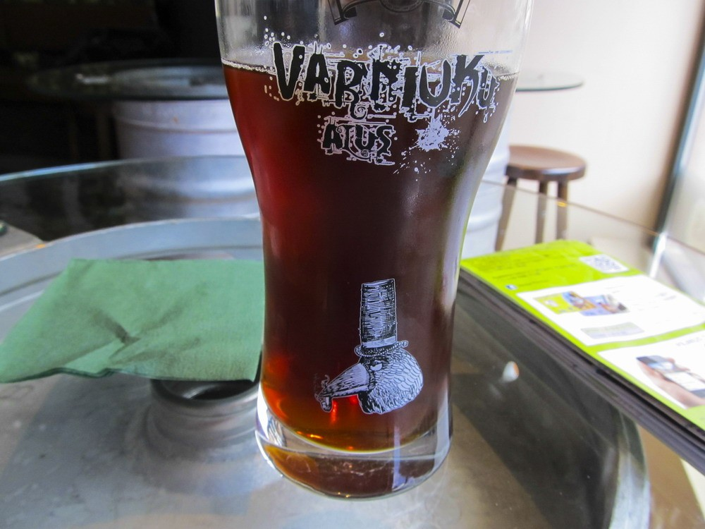 темне пиво Вільнюс