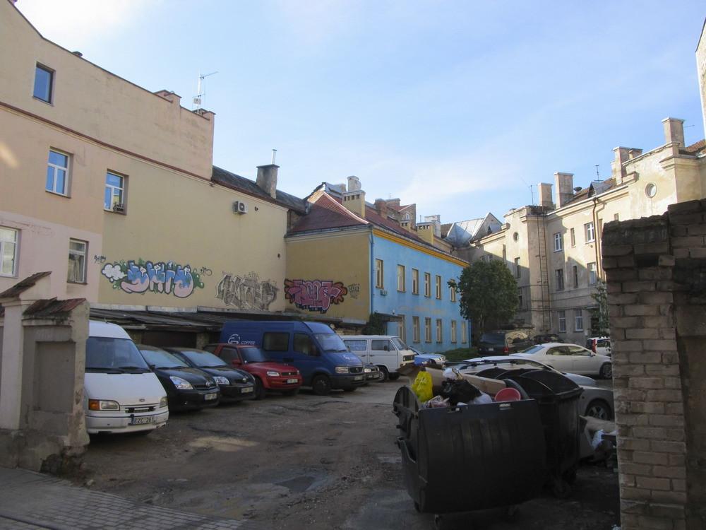 Vilnius: вулциями міста