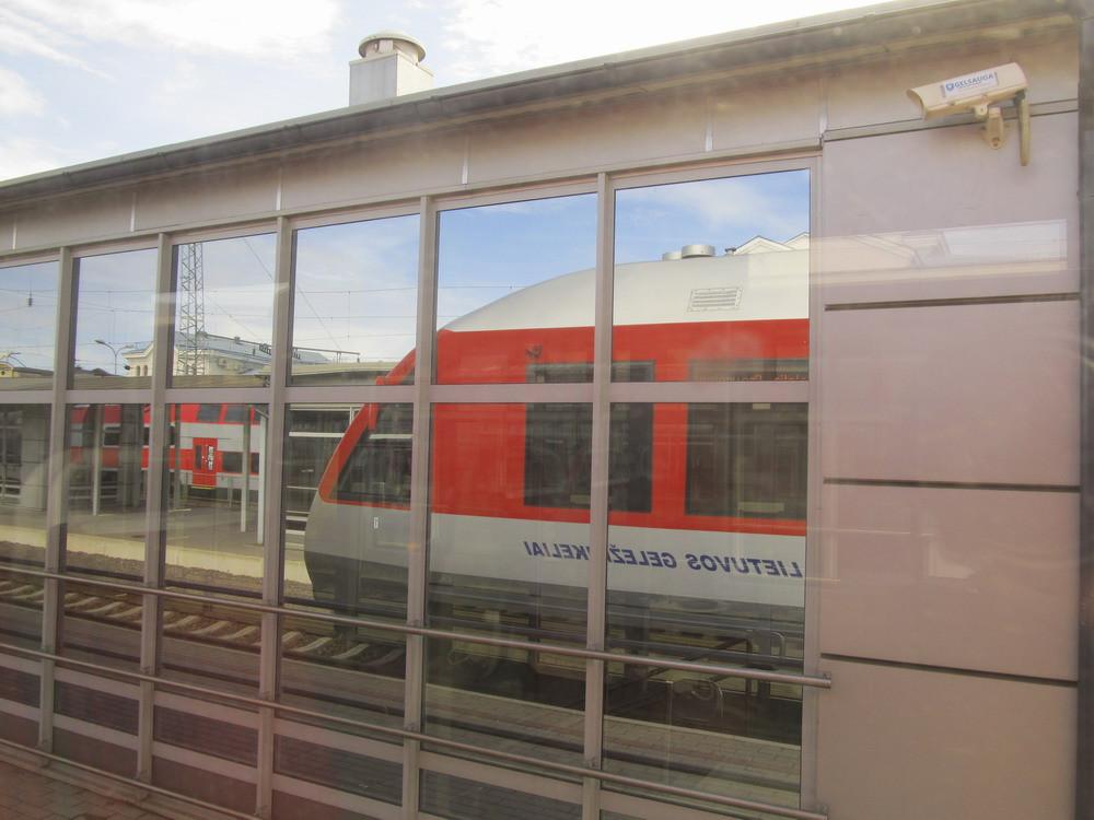 рейковий автобус Вільнюс аеропорт