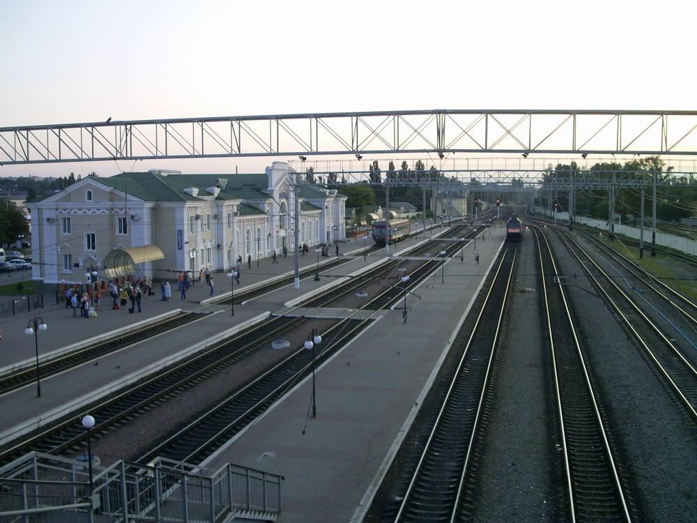 Кременчук залізничний вокзал