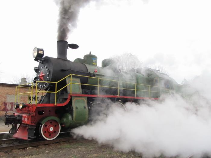 Ретропоїздка на паротязі ім. Т. Шевченка-Золотоноша-ім. Т. Шевченка