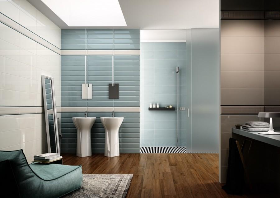 Modern-bathroom-in-blue