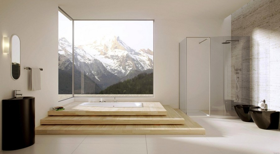 Modern-bathroom-with-large-windows