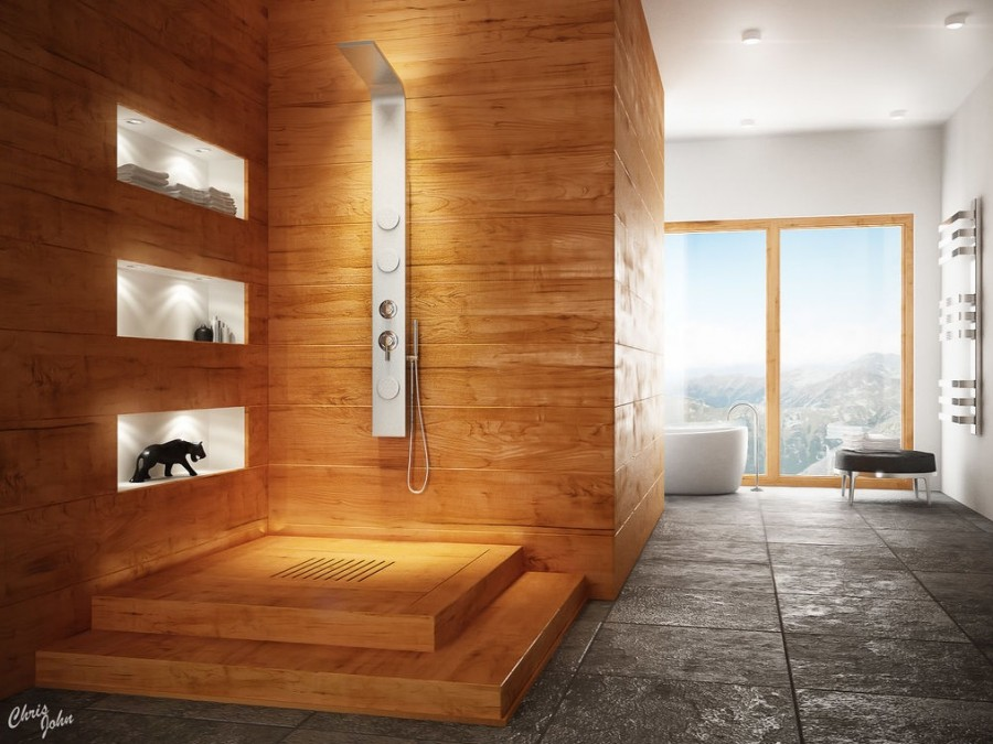 Modern-bathroom-with-natural-elements