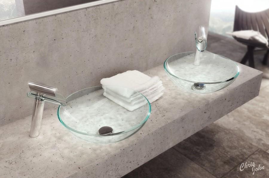 Modern-bath-stone-vanity