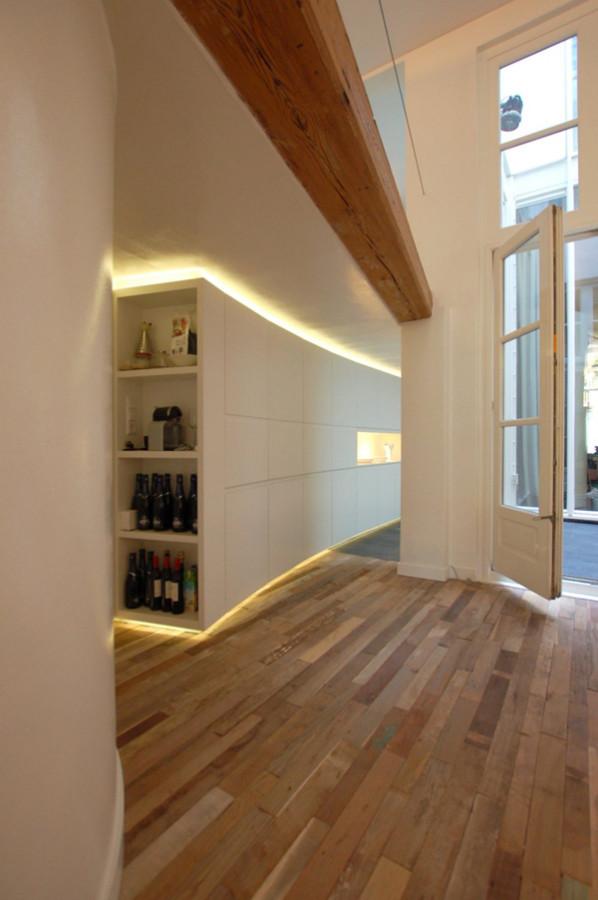 Interesting-Kitchen-Design-By-CUBE-Architecten-Wine-Storage