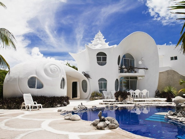 Isla-de-Mujeres-Casa-Caracol-Seashell-Home-1