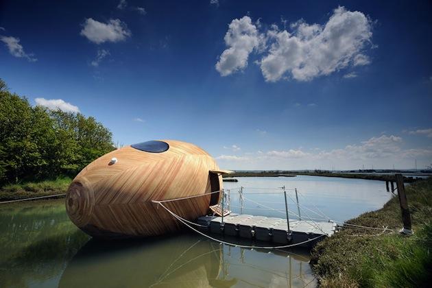 Floating-Wooden-Exbury-Egg-Shelter-2