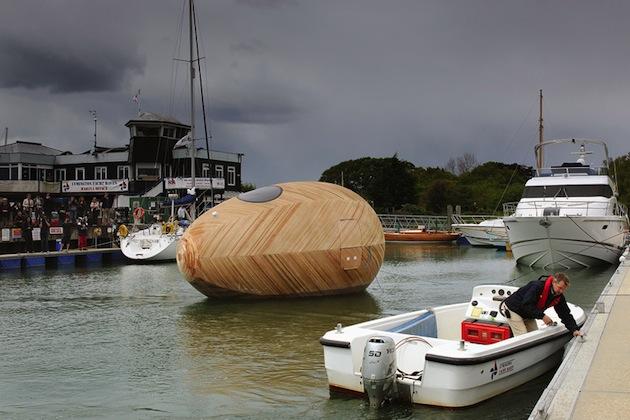 Floating-Wooden-Exbury-Egg-Shelter-7