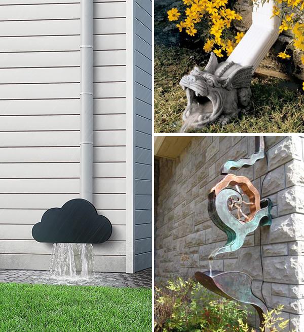 Creative-Gutter-Idea-Decorative-Downspouts