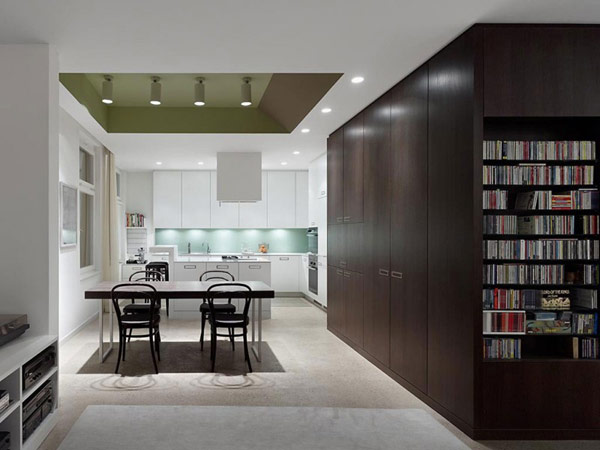 library-in-modern-apartment
