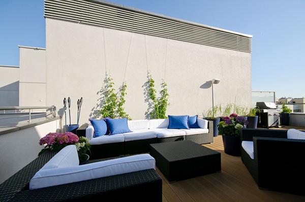 Terrace-Penthouse