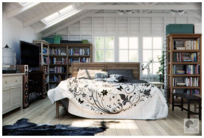 Black-white-bedroom-665x448