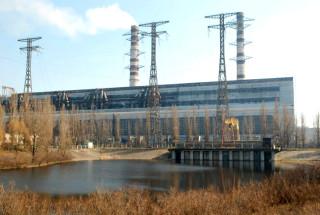 Общий вид на Трипольскую ТЭС