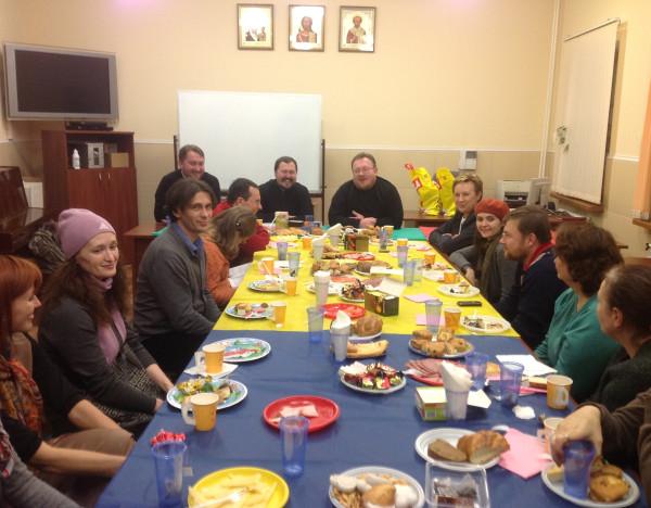 Встреча добровольцев социальной службы