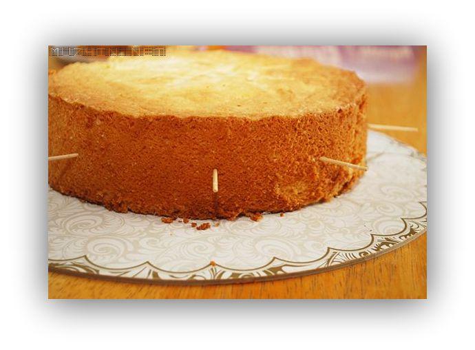 Бисквит разрезать горячим или холодным