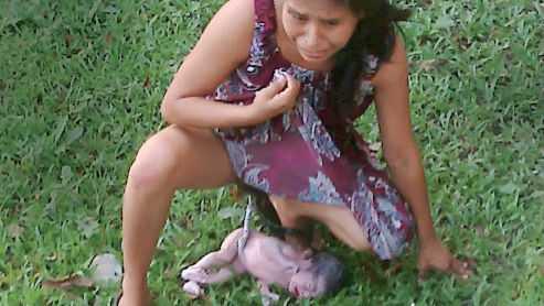 Фото страшная беременная