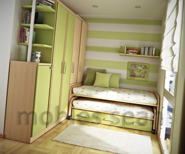 Интерьеры малогабаритных спален