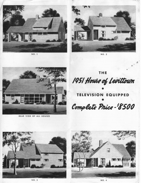 1951 Levittown homes