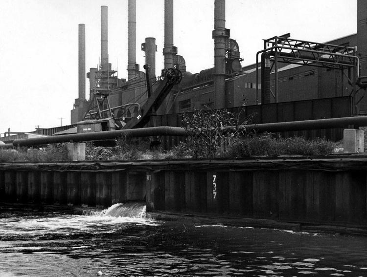 cleveland 1970 dumping-waste