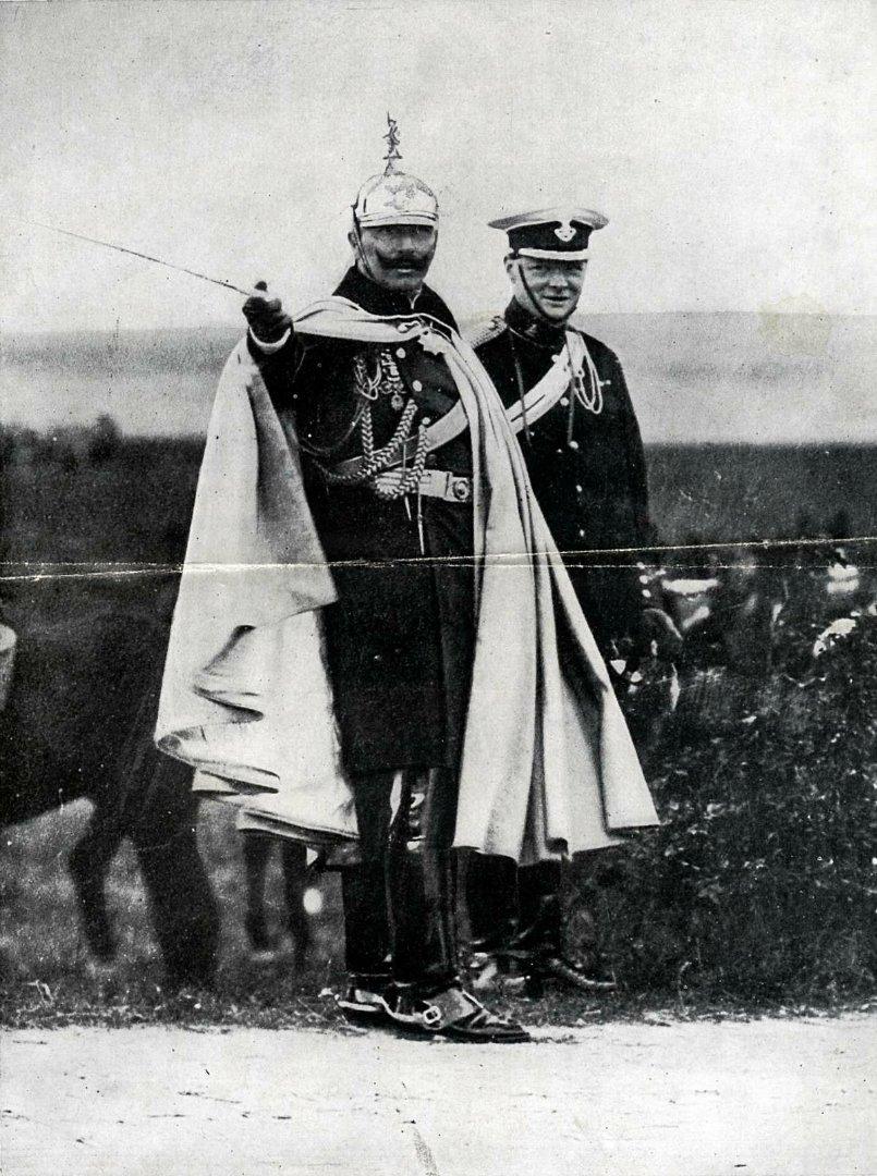 вильгельм и черчиль 1909
