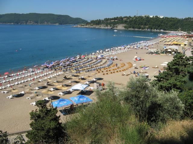 пляж бечичи черногория фото