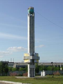 Граница между Европой и Азией: Монумент в Уральск (Казахстан)