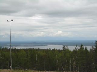 Вид на Черноисточинск с Белой горы