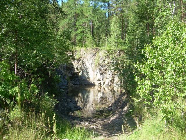 Карьер Александровского рудника