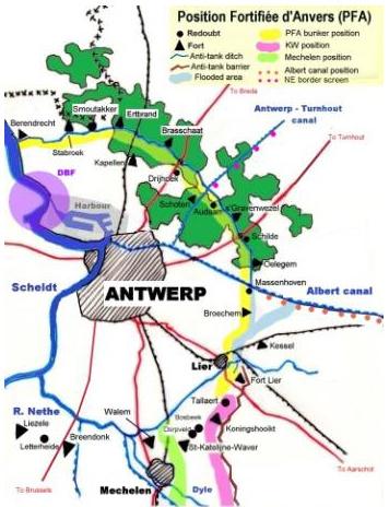 Антверпенский фортификационный комплекс