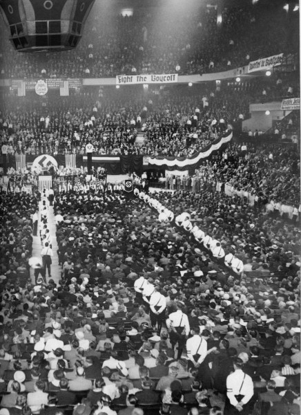 That nazi rally in madison square garden dr hermes more - Madison square garden nazi rally ...