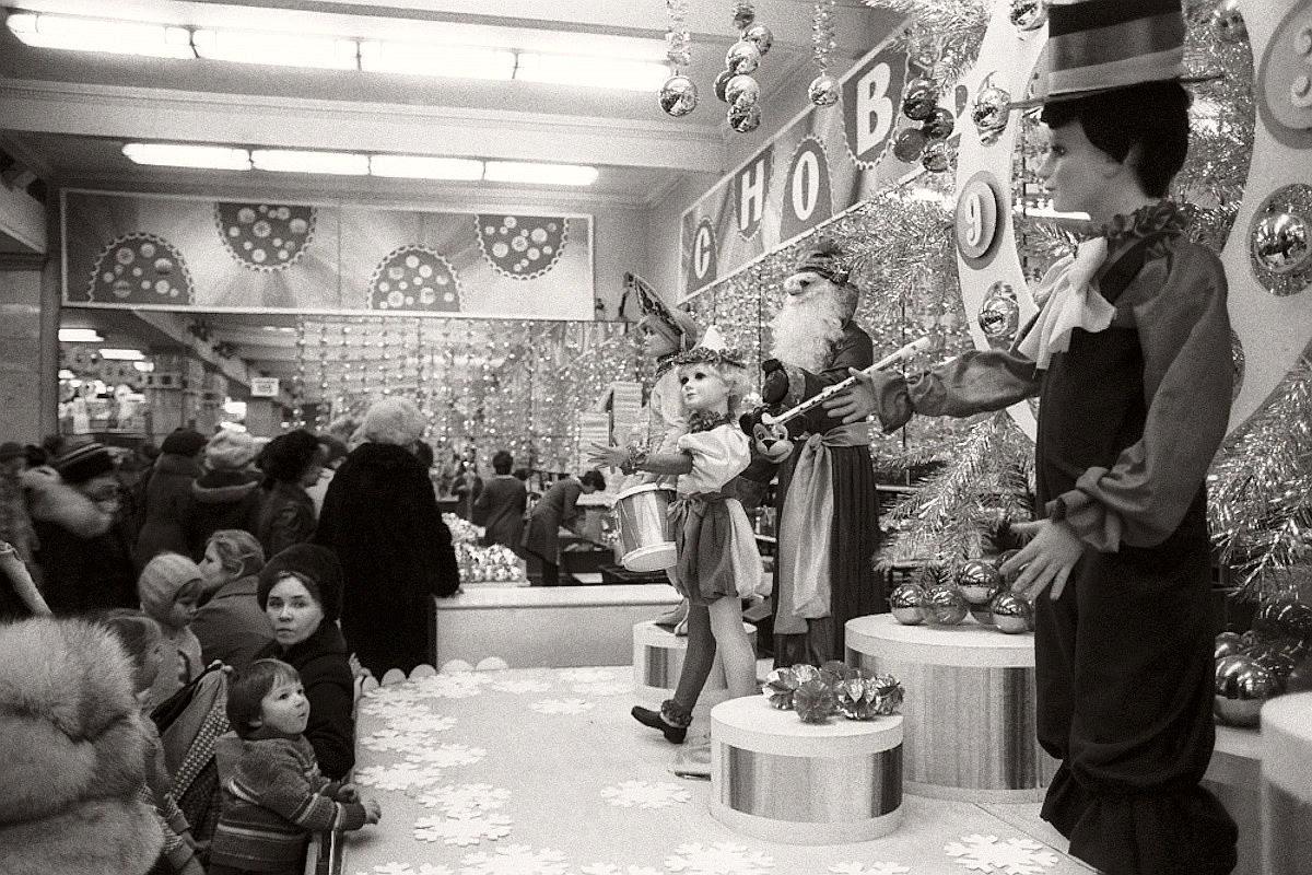 "Магазин ""Детский мир"" накануне 1983, Москва"