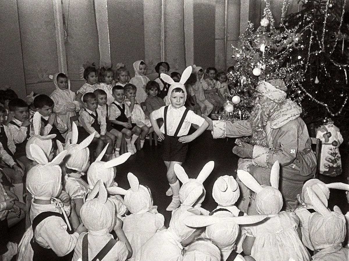 Новый год в детском саду, 1964, Москва