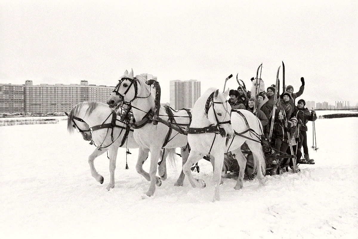 Москва, 1985