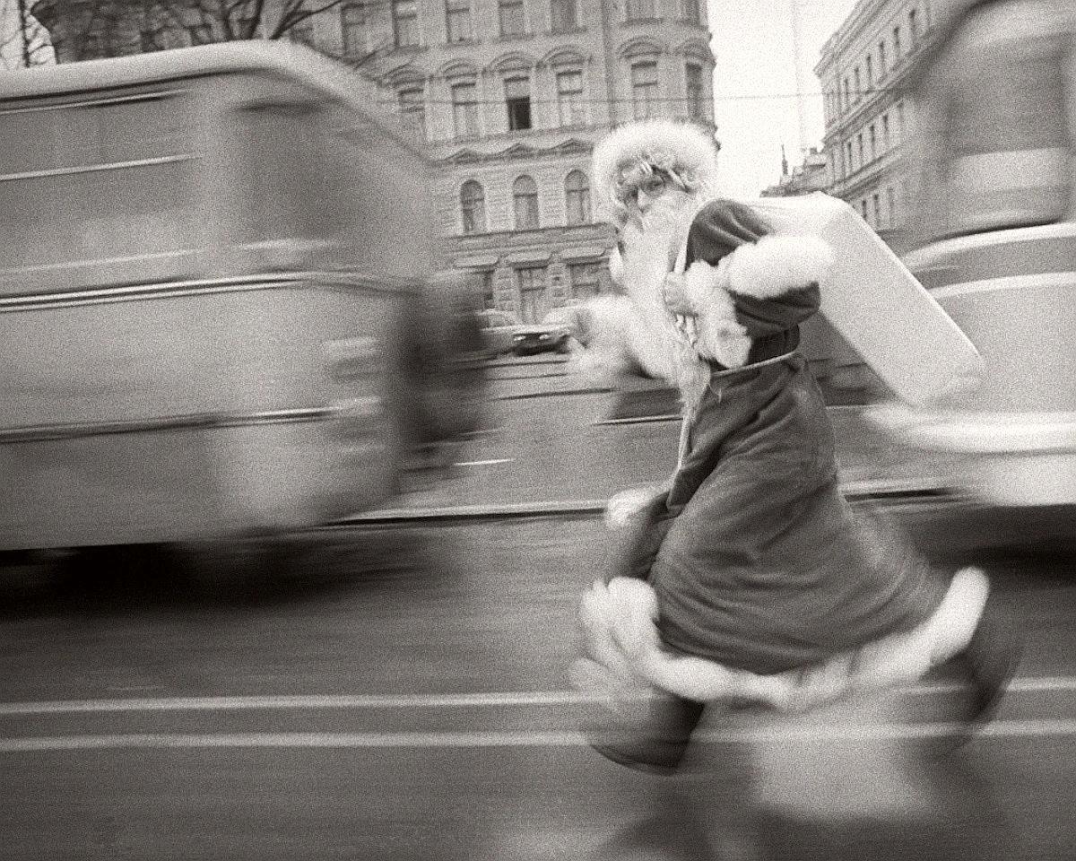 Дед Мороз в Риге, Латвийская ССР, 1986
