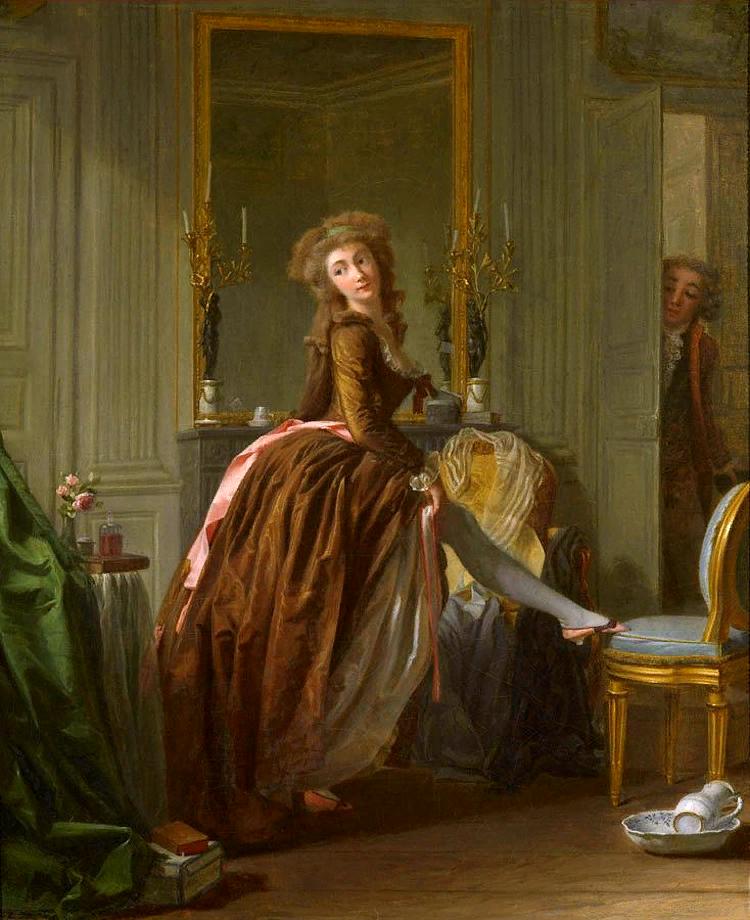 Элегантный туалет. ок. 1788