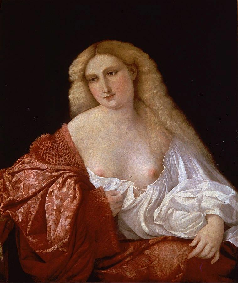 Пальма ди Веккьо. Портрет куртизанки. ок. 1525